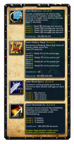 Juggernaut Skill Set