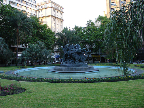 Fabini - or Entrevero - Square, Montevideo.