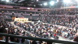 Thousands gathered at the Sun National Bank Center for a three day program.