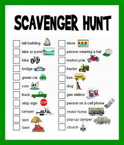 Scavenger Hunt Ideas: Lists and Planning