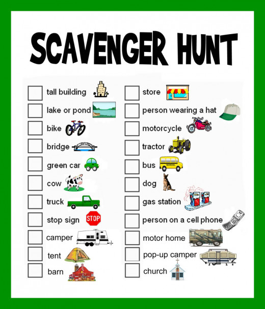 Scavenger Hunt Ideas: Lists and Planning | hubpages