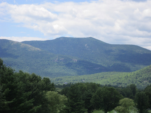 You have to be here to believe it! North Conway, New Hampshire is a beautiful New England getaway location!