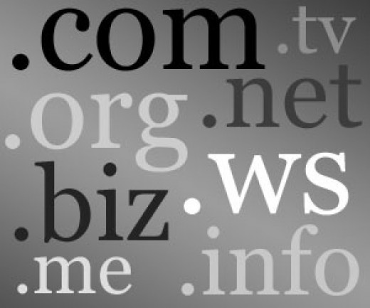 How to choose a website domain name.