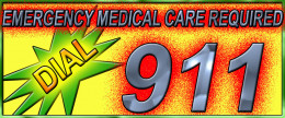 Dial 911, this is a medical emergency!