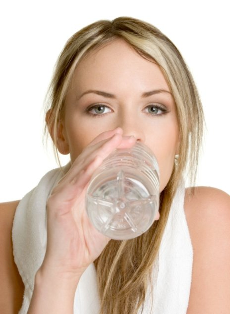Drink a lot of water