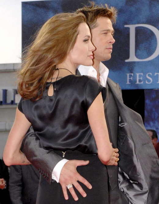 How do you think Angelina and Brad stay together?  They communicate well and trust each other!  That is key in any relationship!