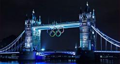 London bride view at night