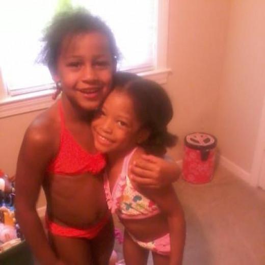 Cherry (Cherish) and Maria