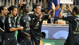 Eddie Johnson and the MLS All-Stars