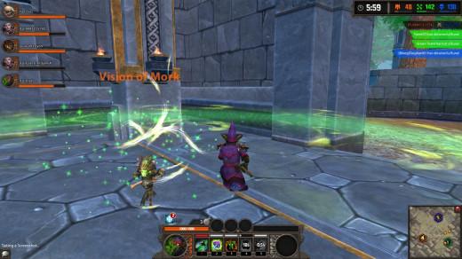 Glowgob da Green demonstrates the power of Mork's totem!