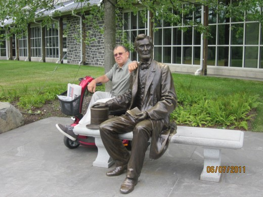 Abe Lincoln and author discuss the Denver tragedy