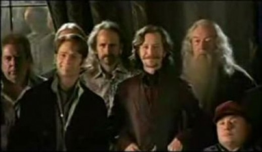 Original Order of the Phoenix group from the Harry Potter and Order of the Phoenix movie