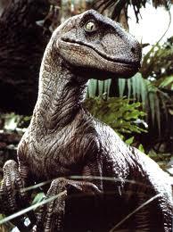 Velociraptor as portrayed in Jurassic Park