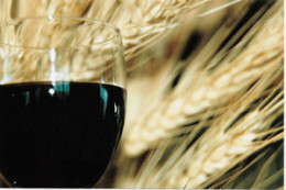L' Chaim - Wheat, the staff of life; and fruit of the vine.