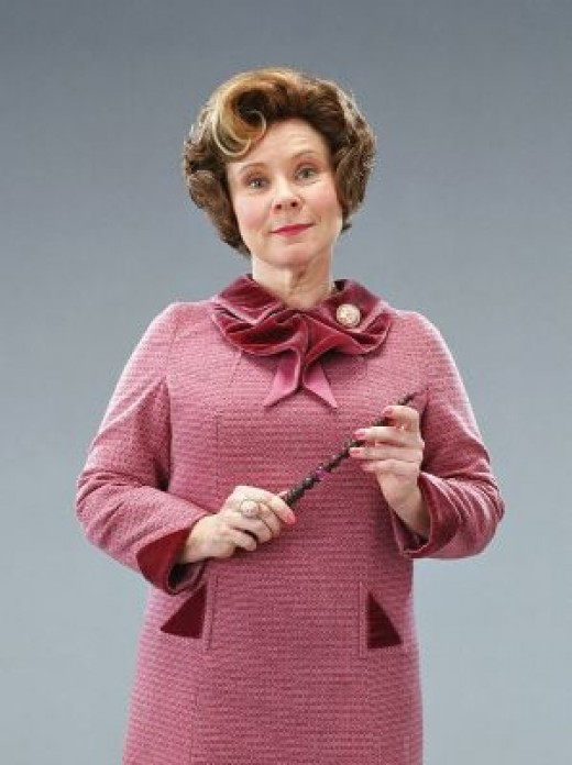 Professor Umbridge from Harry Potter and the Order of the Phoenix movie