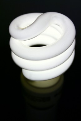 Replace old light bulbs with energy efficient ones.