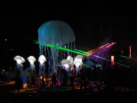 The Jellyfish is launched.
