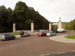 Prince of Wales Entrance to Stormont Estate