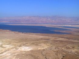 Dead Sea drying up.