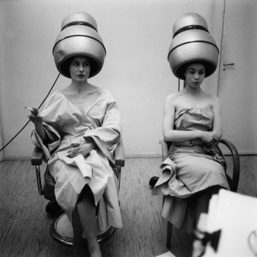 Paris in the Fifties - At Carita's hair salon