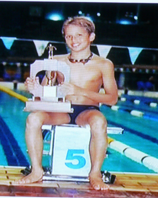 Young Chad le Clos - dreaming of a gold