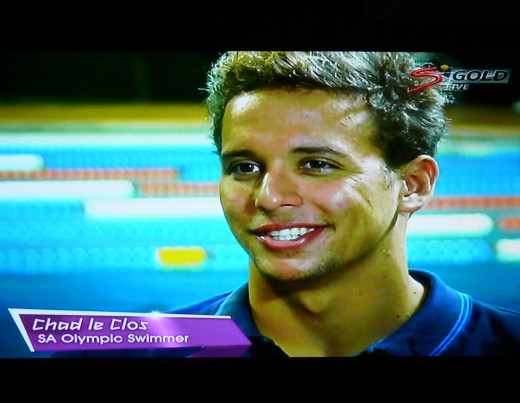 "Chad le Clos- South African Swimming hope at Olympics. ""Hard work not luck"""