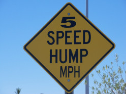 No speed humps around these parts