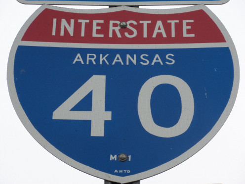 Arkansas - 284.64 miles