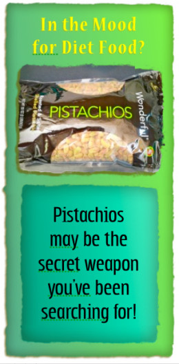 Pistachio nuts are my new diet food!