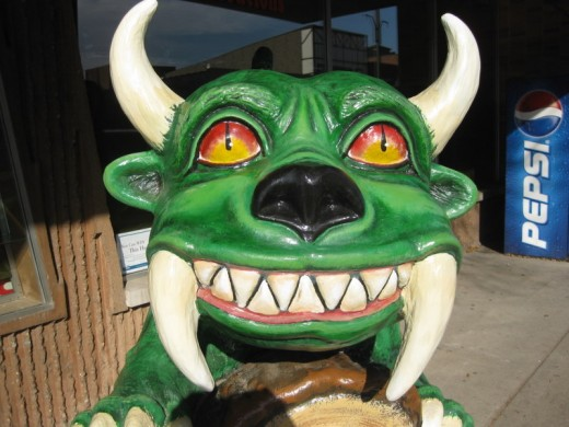 Another Hodag monument.