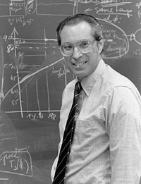 "Barry Saltzman (1931-2001.)  Winner of the 1998 Rossby medal, Saltzman has been called the ""the father of modern climate theory."""
