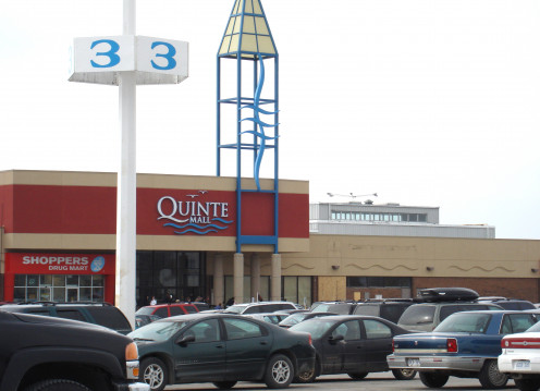 Quinte Mall in Belleville, Ontario.