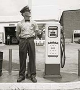 Bobby, the gas station attendant