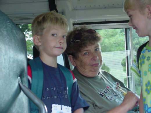 Driving a school bus