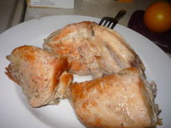 How to Cook a Chicken Breast- Prepping Ahead for Chicken Dinner