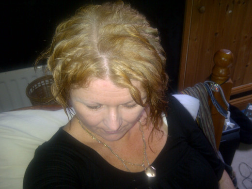 Oh dear, look what happens with too much bleach/peroxide!