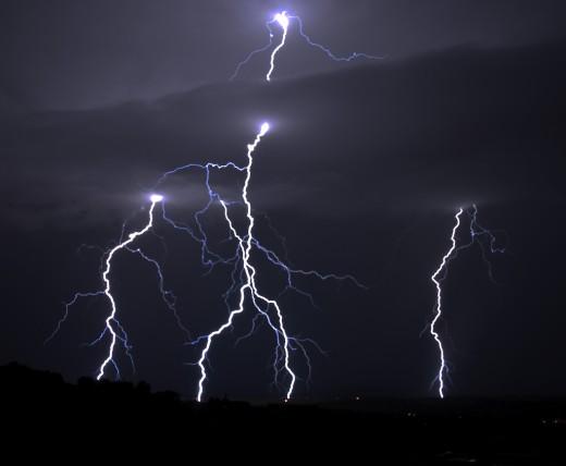 Thunderbolts and lightning, very, very fright'ning...