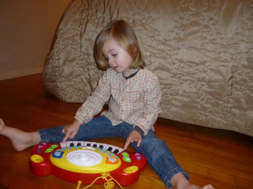 "Playing 'Piano"" at home"
