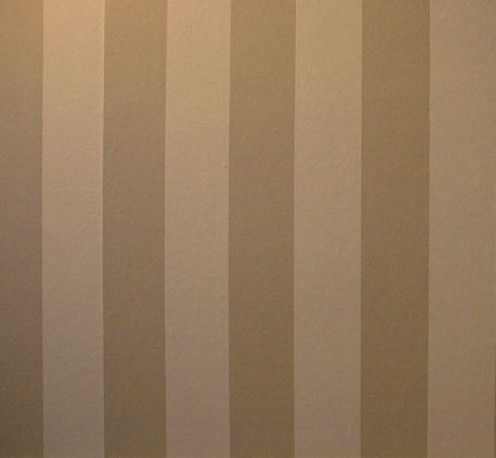 Vertical stripes make walls look taller -- just like a striped dress elongates the body!