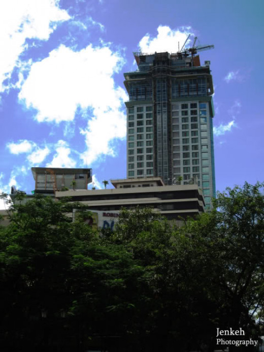 Crown Regency Hotel and towers located in Fuente Osmeña and said to be the tallest structure outside Metro Manila!