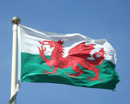 The Flag of Wales The Red Dragon