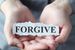 Overcome bitterness by forgiving