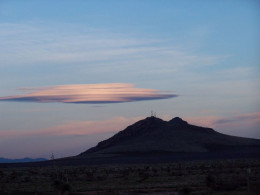 Perfectly natural phenomena like lenticular cloud formations can be mistaken for UFOs