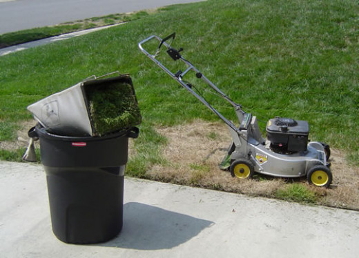 Don't forget to add grass clippings to the composter to keep the nutrient levels balanced!