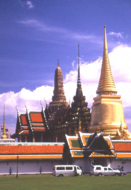 The Temple of the Emerald Buddha, Bangkok