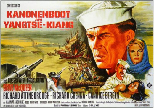 The Sand Pebbles 1966 German poster