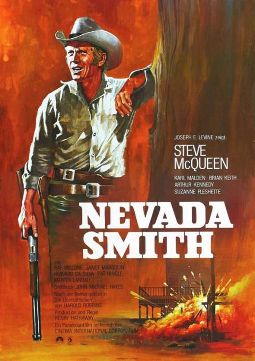 Nevada Smith 1966 German poster