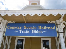 Take a ride on the North Conway Scenic Valley Train!