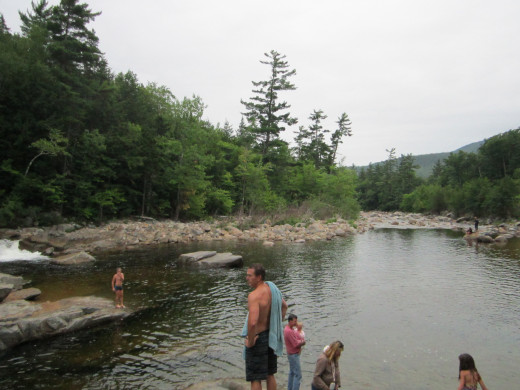 Take a Swim in the Kancamagus River!
