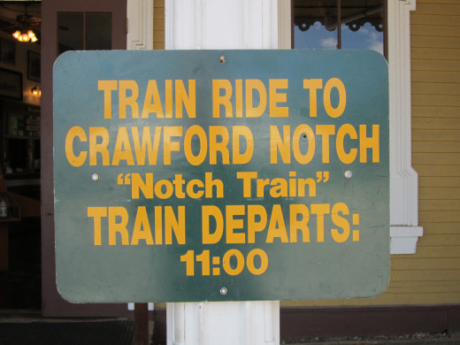 Take a Train Ride to Crawford Notch! It is quite a lovely experience!